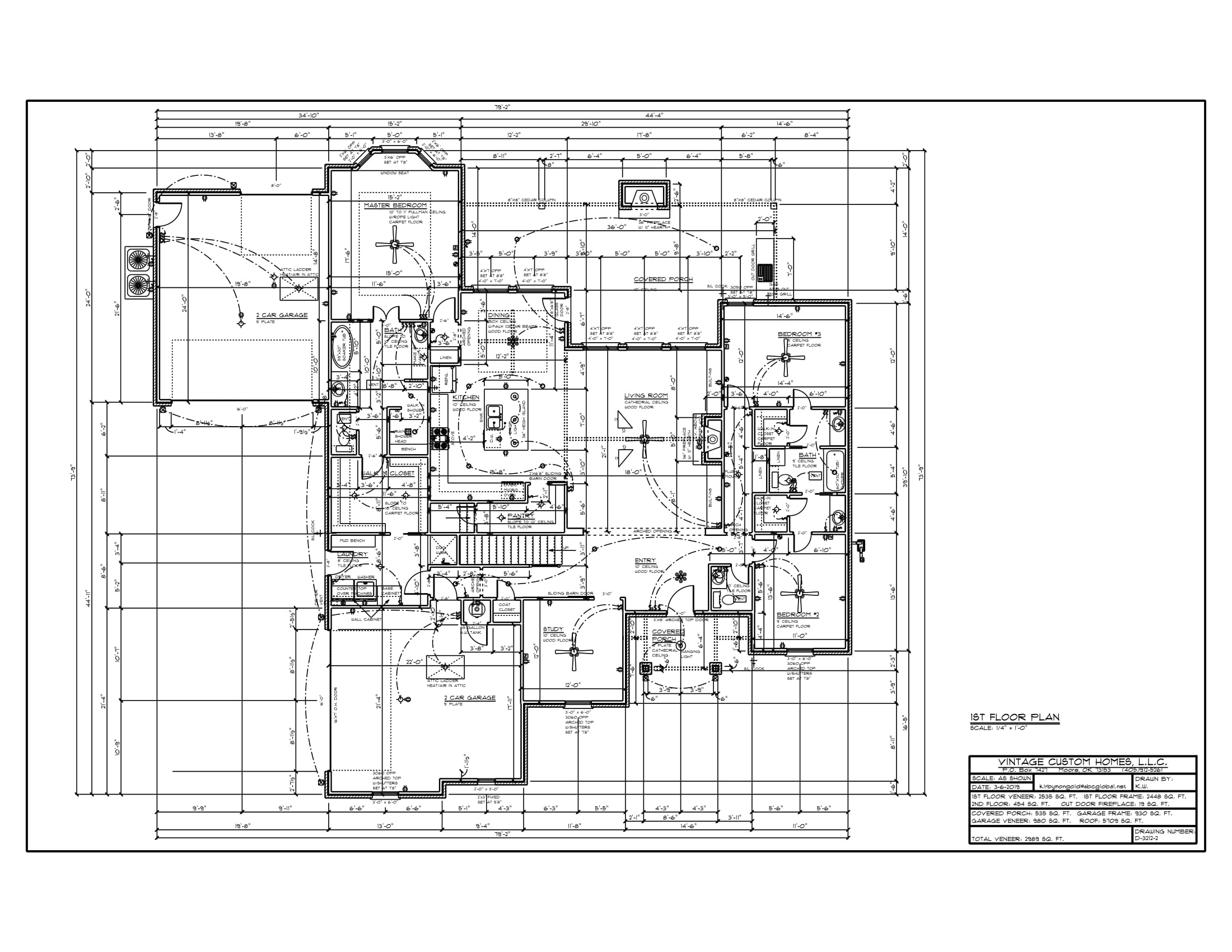 Floor Plan # D-3212-2 2989 sqft